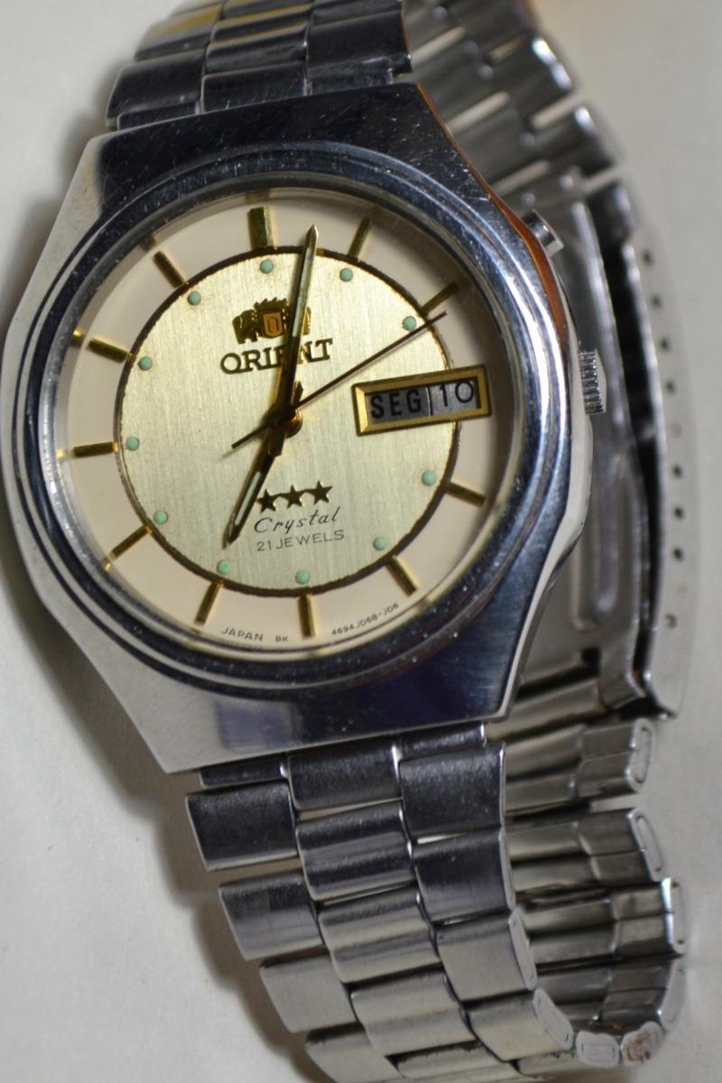 000dec289bc Relógio Masculino Orient 3 Estrelas Crystal Ke 469jd6-80 Ca - R  250 ...