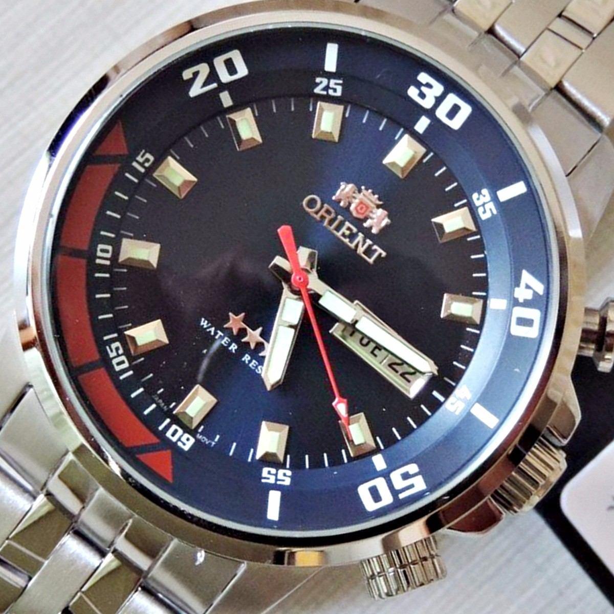 56a3552259f Relógio Masculino Orient Automático 469ss058 D1sx 100metros - R  648 ...