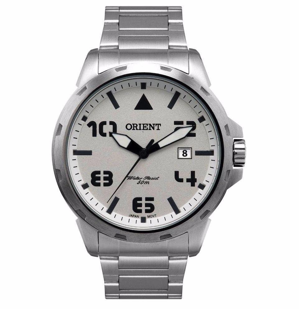 81be0fff147 Relógio Masculino Prata Oferta Imperdível Oferta Orient - R  239