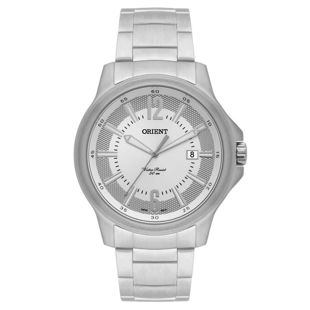 c71794d26 Relógio Masculino Analógico Orient Sport Mbss1276 S2sx Prata - R ...