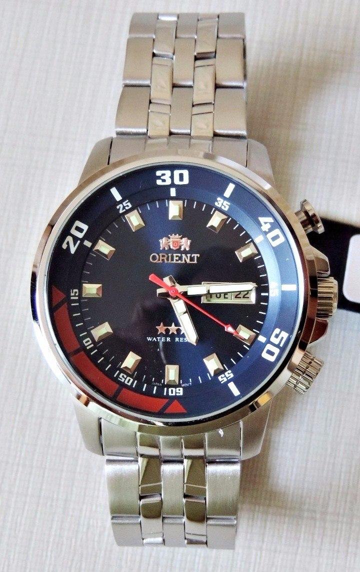 b9658d3818d relógio masculino orient automático 469ss058 d1sx 100metros. Carregando  zoom.