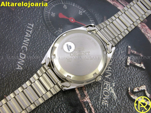 relógio masculino orient automático clássico fab00003c9