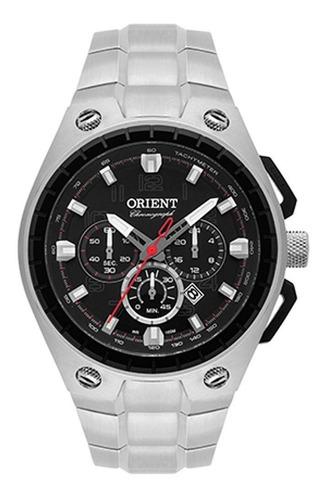 relógio masculino orient cronógrafo mbssc171 p2sx - prata