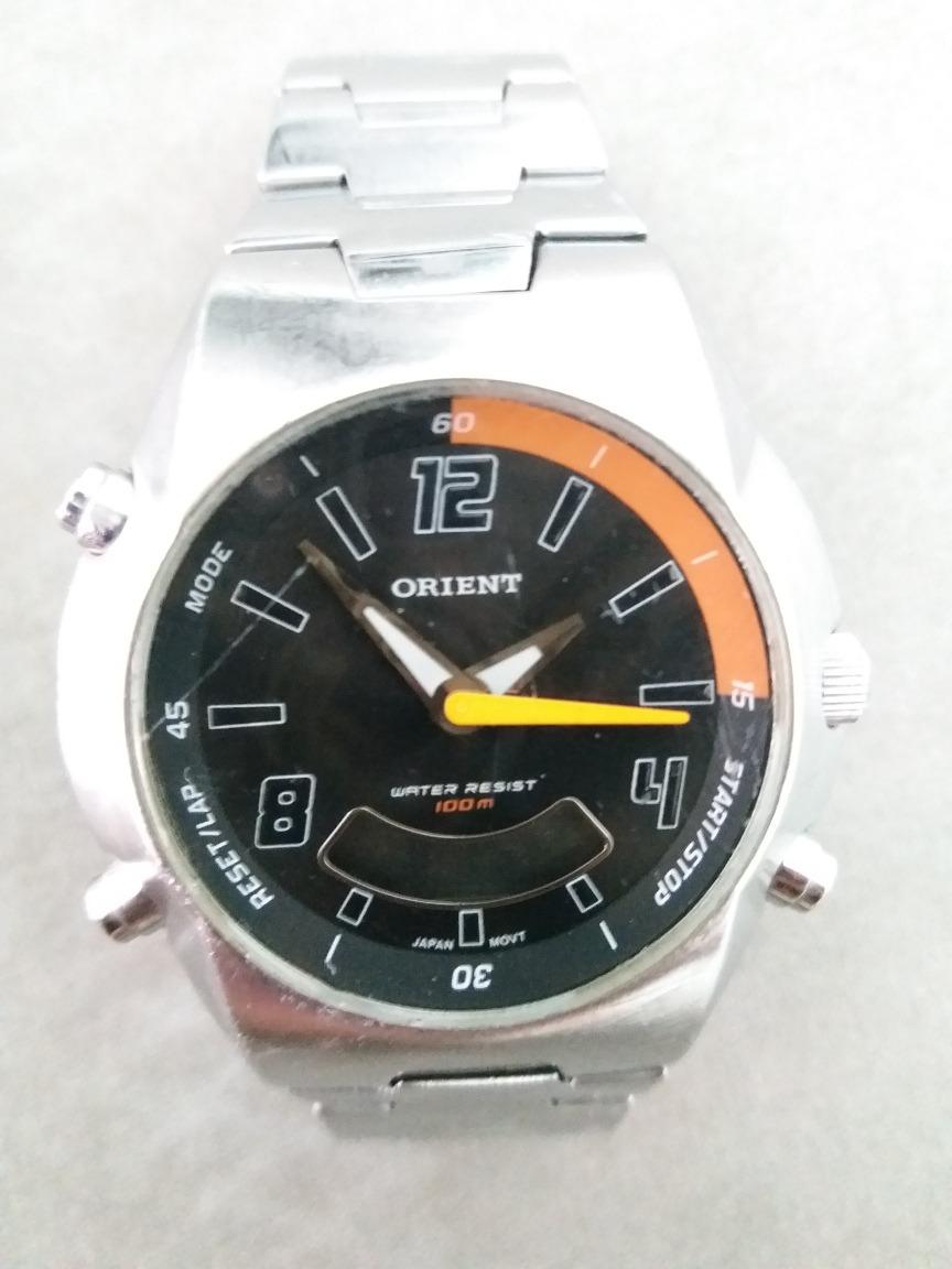 Relógio Masculino Orient Mbssa 022 Anadigi Alarme Calendário - R ... a58a5ec1b2