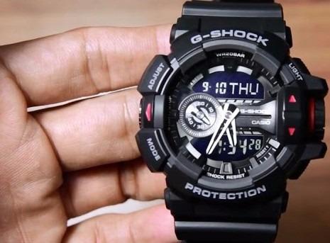a5df1aafb33 Relógio Masculino Original Anadigi Casio G-shock Ga4001bdr - R  689 ...
