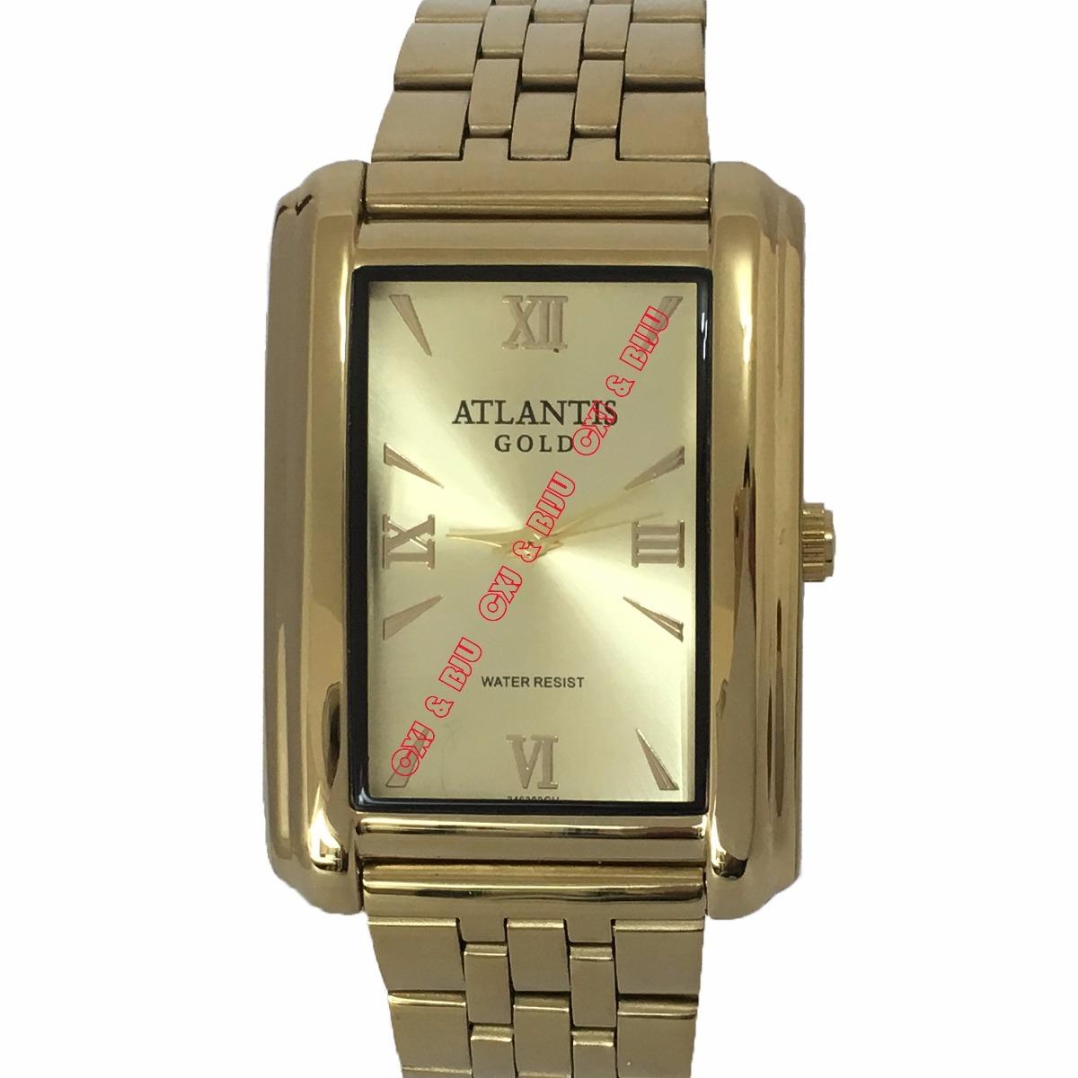 e08d7d06754 relógio masculino original atlantis dourado ( frete grátis). Carregando  zoom.