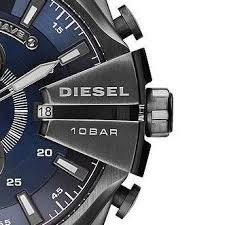 9a6c09ea2f1a1 Relógio Masculino Original Diesel 10 Bar Dz-4329 Preto azul - R  449 ...