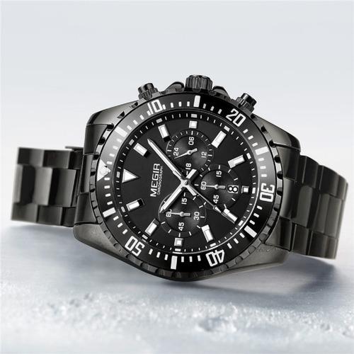 relógio masculino original + garantia + (brinde) + f grátis