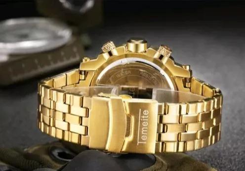relógio masculino original luxo promoção top -pronta entrega