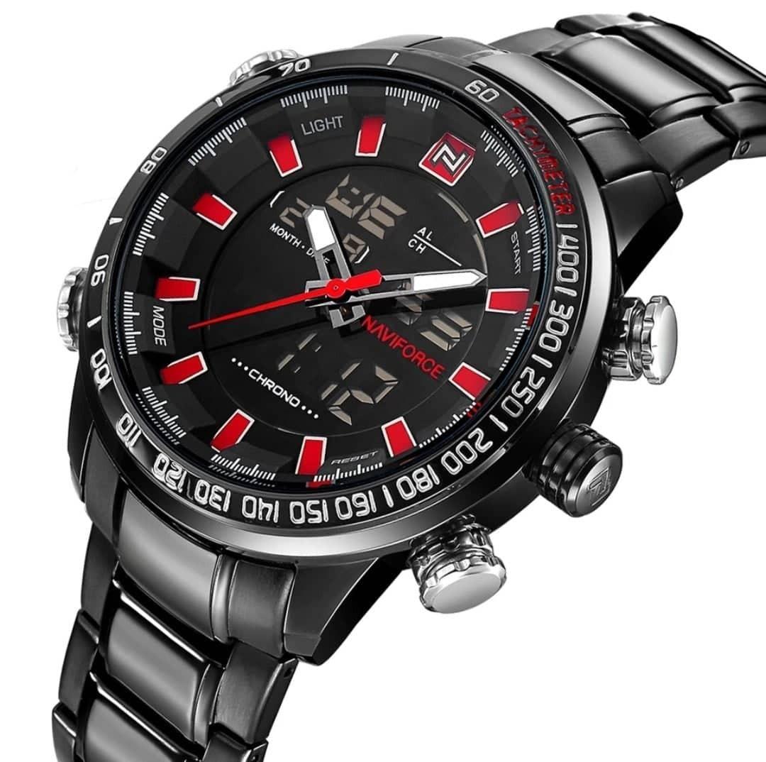 9572f4c90f5 relógio masculino original naviforce top lançamento 2019. Carregando zoom.