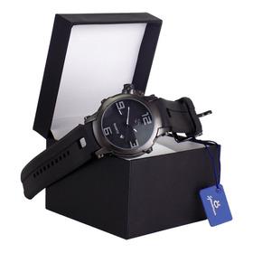Relógio Masculino Original Nota Fiscal Garantia Caixa Luxo