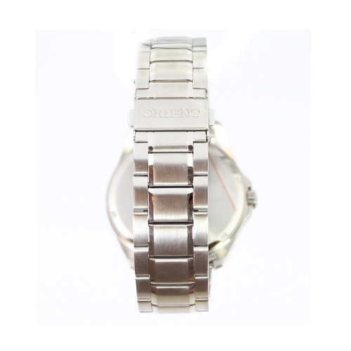 relógio masculino original orient cromado prata nota fiscal