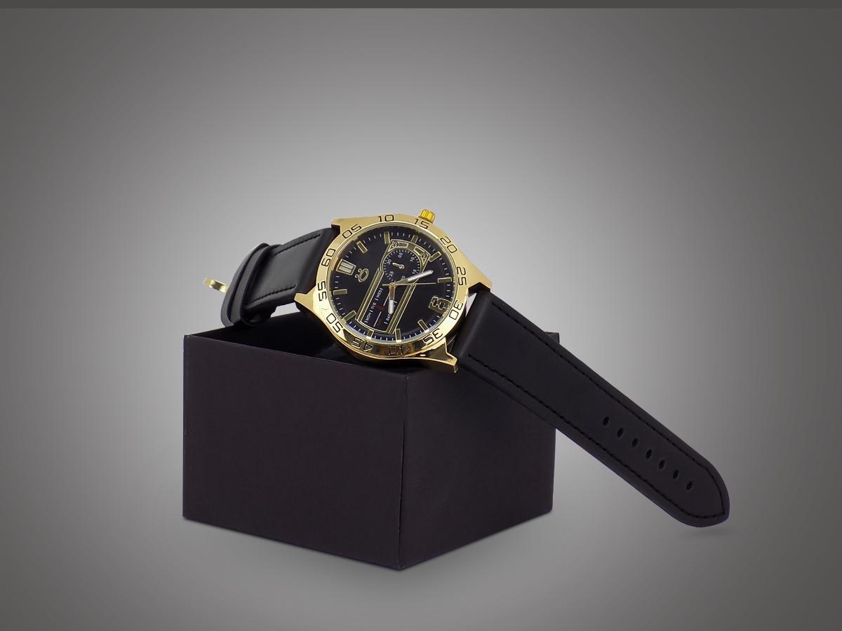 c529df48526 relógio masculino original prata marrom couro preto + caixa. Carregando  zoom.