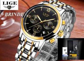 094efdbf0 Relogio Masculino Dourado - Relógio Masculino em Criciúma no Mercado Livre  Brasil