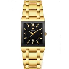 Relógio Masculino Original Wwoor 8858 Luxo Aço Inoxidável