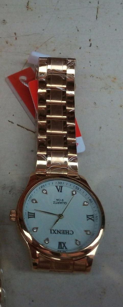 b29c613eacb relógio masculino ouro brilho prova d água pronta entrega!! Carregando zoom.