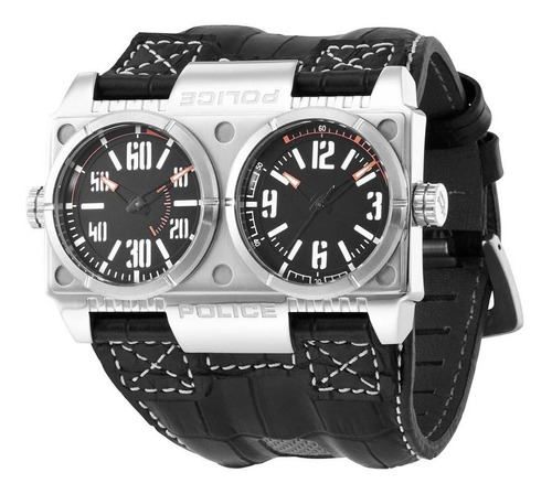 relógio masculino police dominator - 12899xs/02
