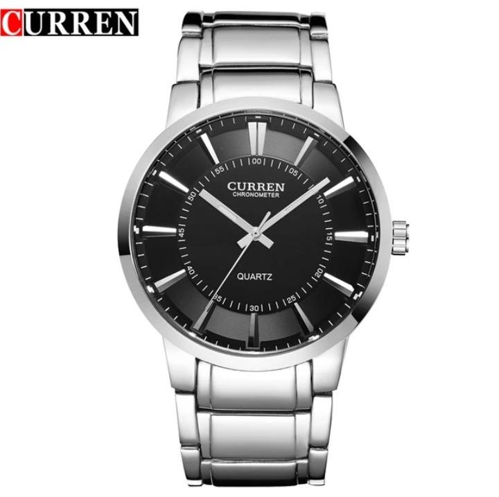 be8ae00abf0 Relógio Masculino Prata Barato Curren Importado Original - R  59