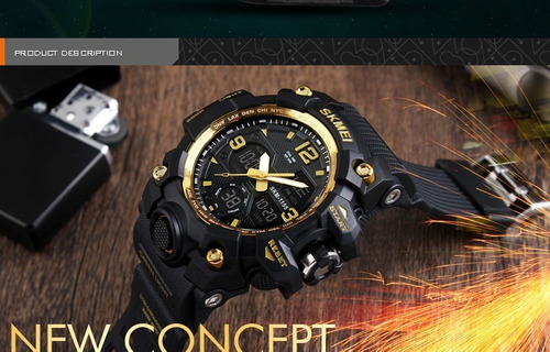 relógio masculino prova d água 1155