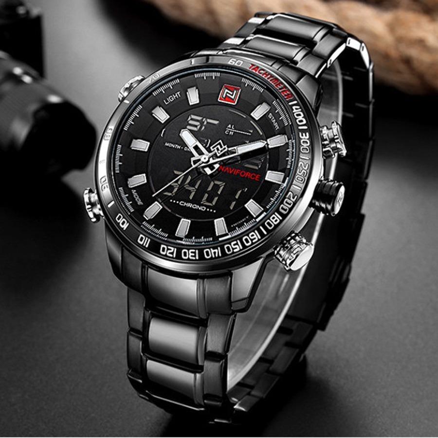 6ac0446e0ea relógio masculino prova dágua barato estojo original. Carregando zoom.