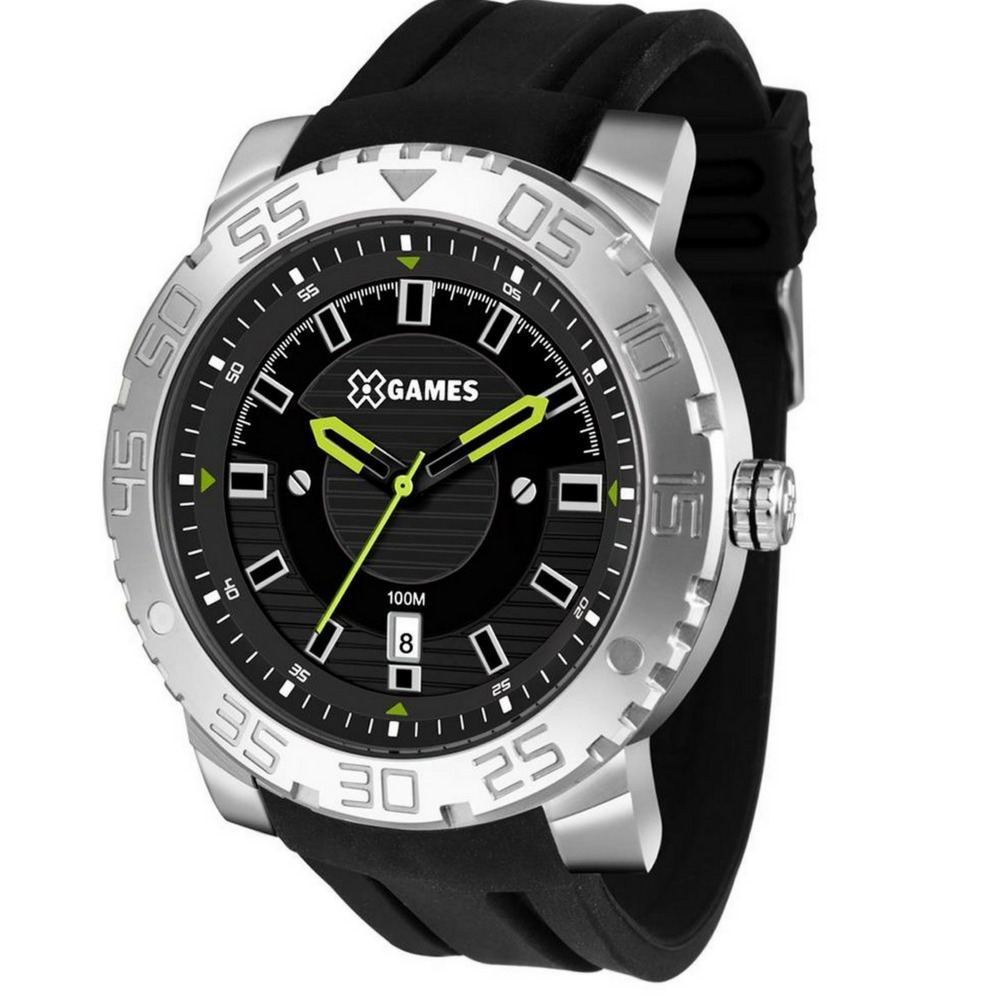 588ec93f255 Relógio Masculino Prova D´água X-games Grande Xmsp1010 - R  212