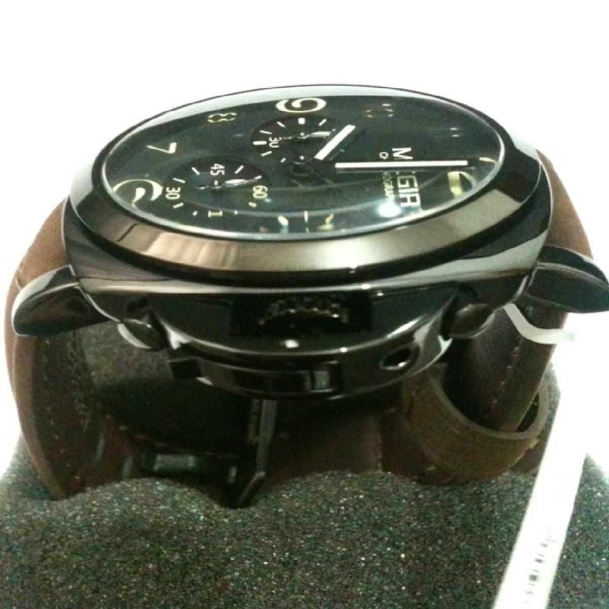 37cd3253c66 relógio masculino pulseira couro original megir 3406. Carregando zoom.
