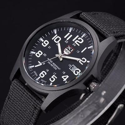 relógio masculino pulseira de couro militar soki ou feminino