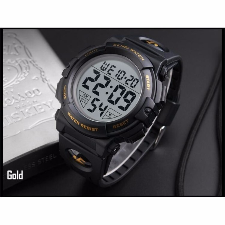 6e95f152ff3 Relógio Masculino Pulseira De Silicone Skmei - R  120