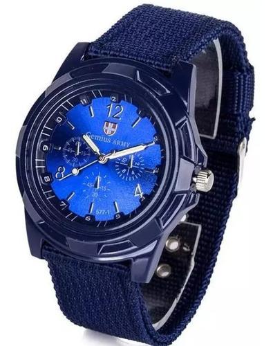 relógio masculino pulseira militar sports.. top de luxo