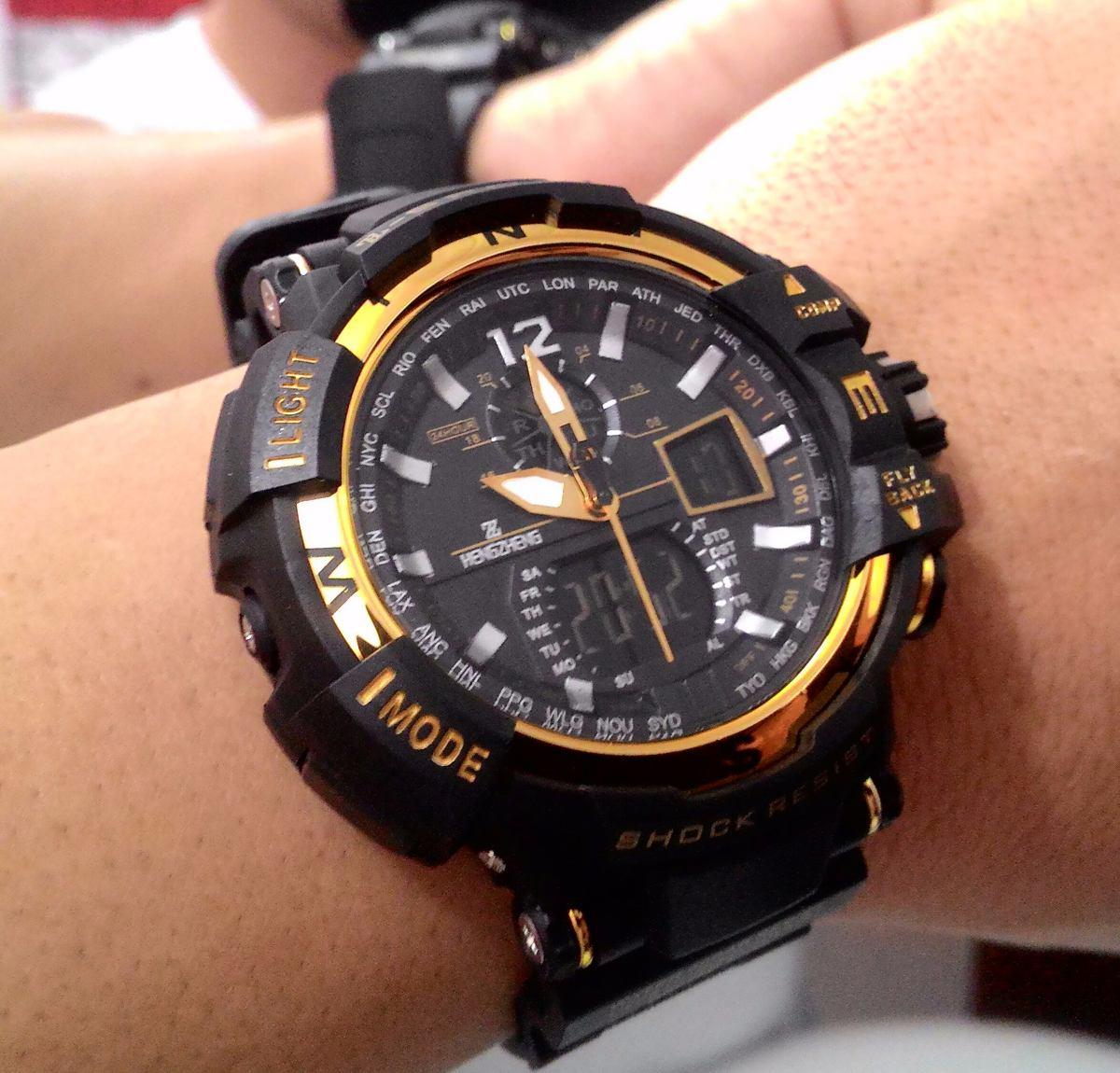 0d528e2a069 relógio shock masculino pulso z sport 490 digital analogico. Carregando  zoom... relógio masculino pulso. Carregando zoom.