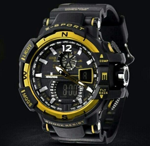 32c6ede4d66 relógio shock masculino pulso z sport 490 digital analogico. Carregando  zoom... relógio masculino pulso