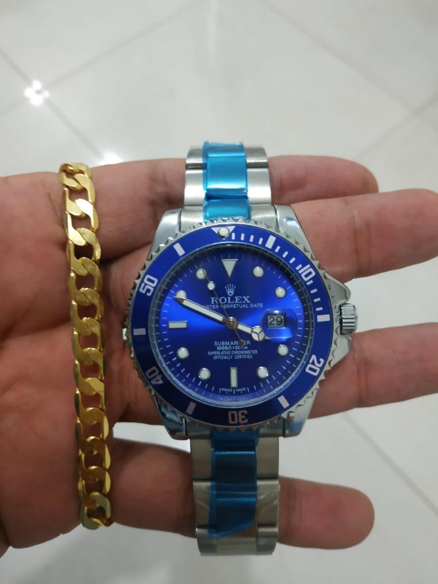 18702712e44 Relógio Masculino Aço De Pulso Rolex Submariner - Barato - R  119