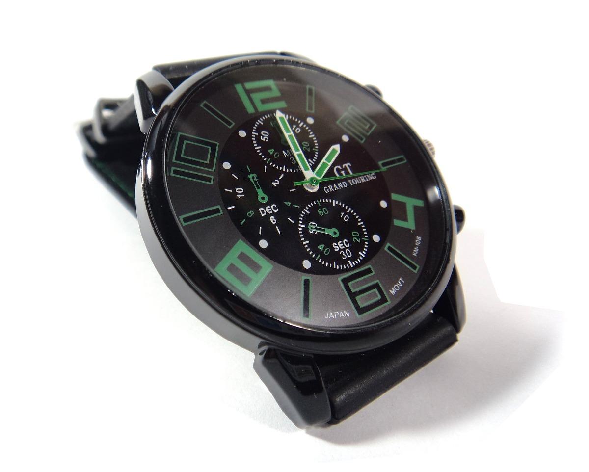 bcffb064eb3 relógio masculino pulso quartzo esportivo silicone. Carregando zoom.