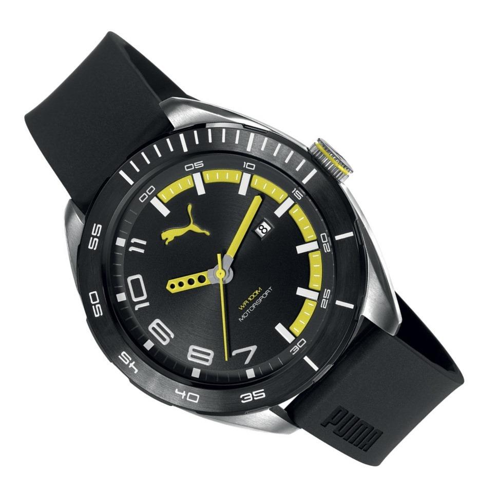 1abc6e65e8b Relógio Masculino Puma Analógico 96256g0psnu2 - R  399