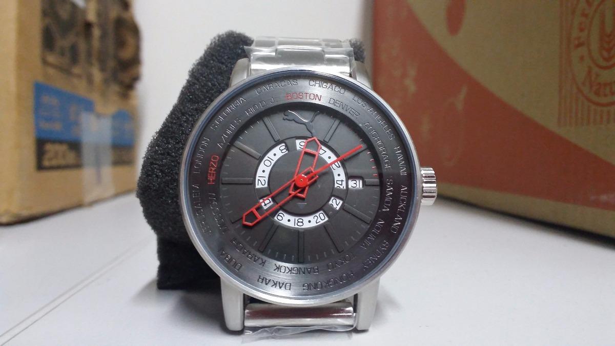 2e9e78da28d Relógio Masculino Analógico Puma 96223g0pmna3 - R  299