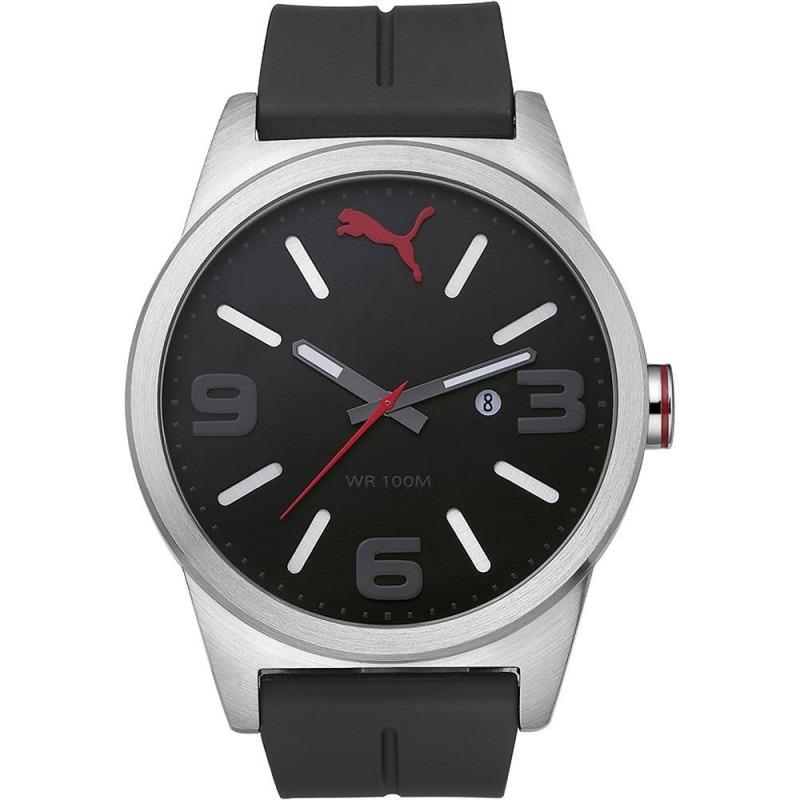 27920d55148 relógio masculino puma analógico com calendário esportivo 96. Carregando  zoom.