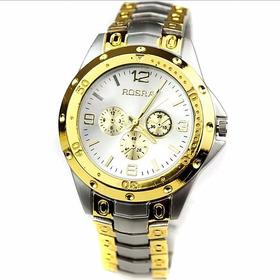 Relógio Masculino Quartzo Rosra
