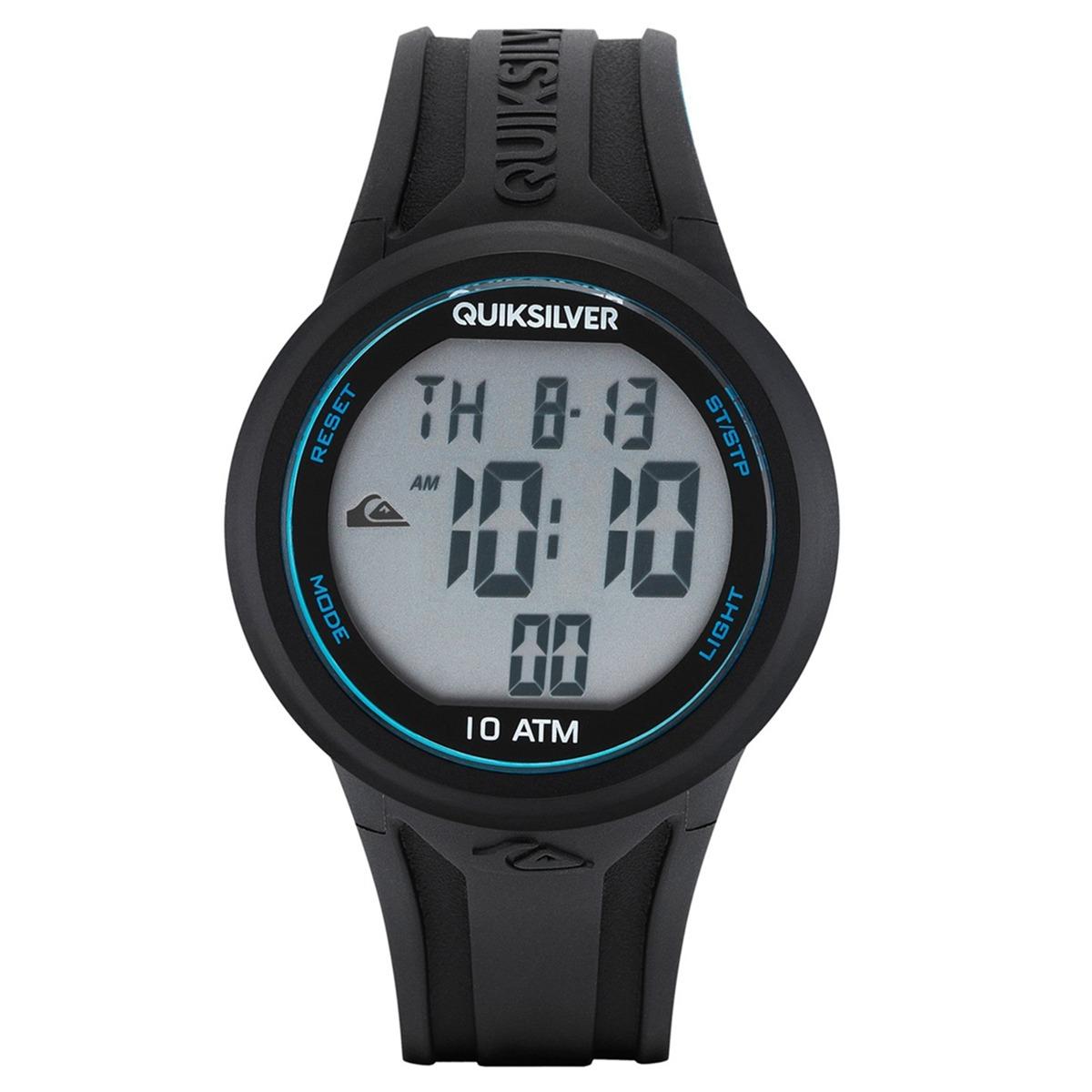 7ae7bac206971 Relógio Masculino Quiksilver The Barrel Black - R  417,49 em Mercado ...