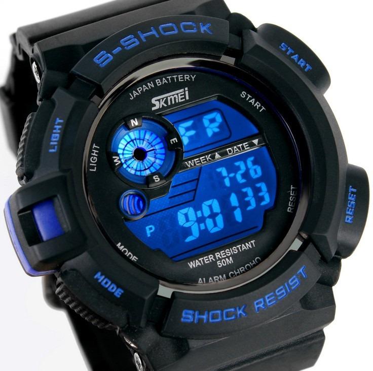 f97115ec4b9 Relógio Digital Masculino Relogios Masculinos - R  200