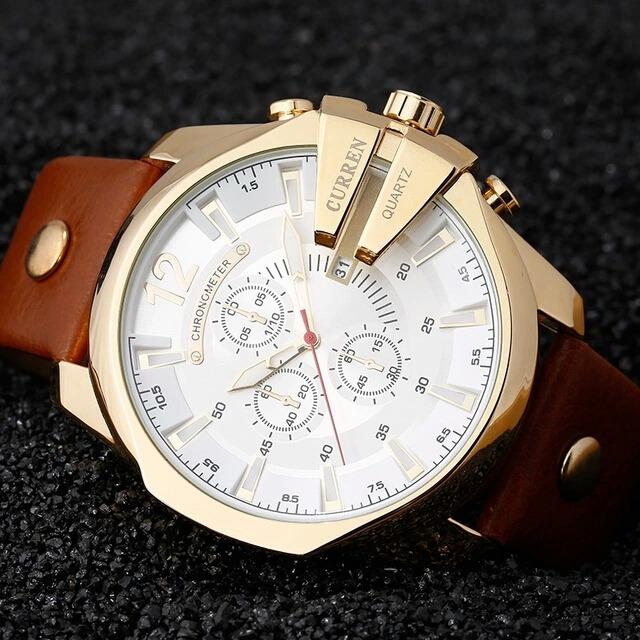 beb1e79ba51 relogio masculino curren ouro homens relógios top marca luxo · relogio  masculino relógios marca