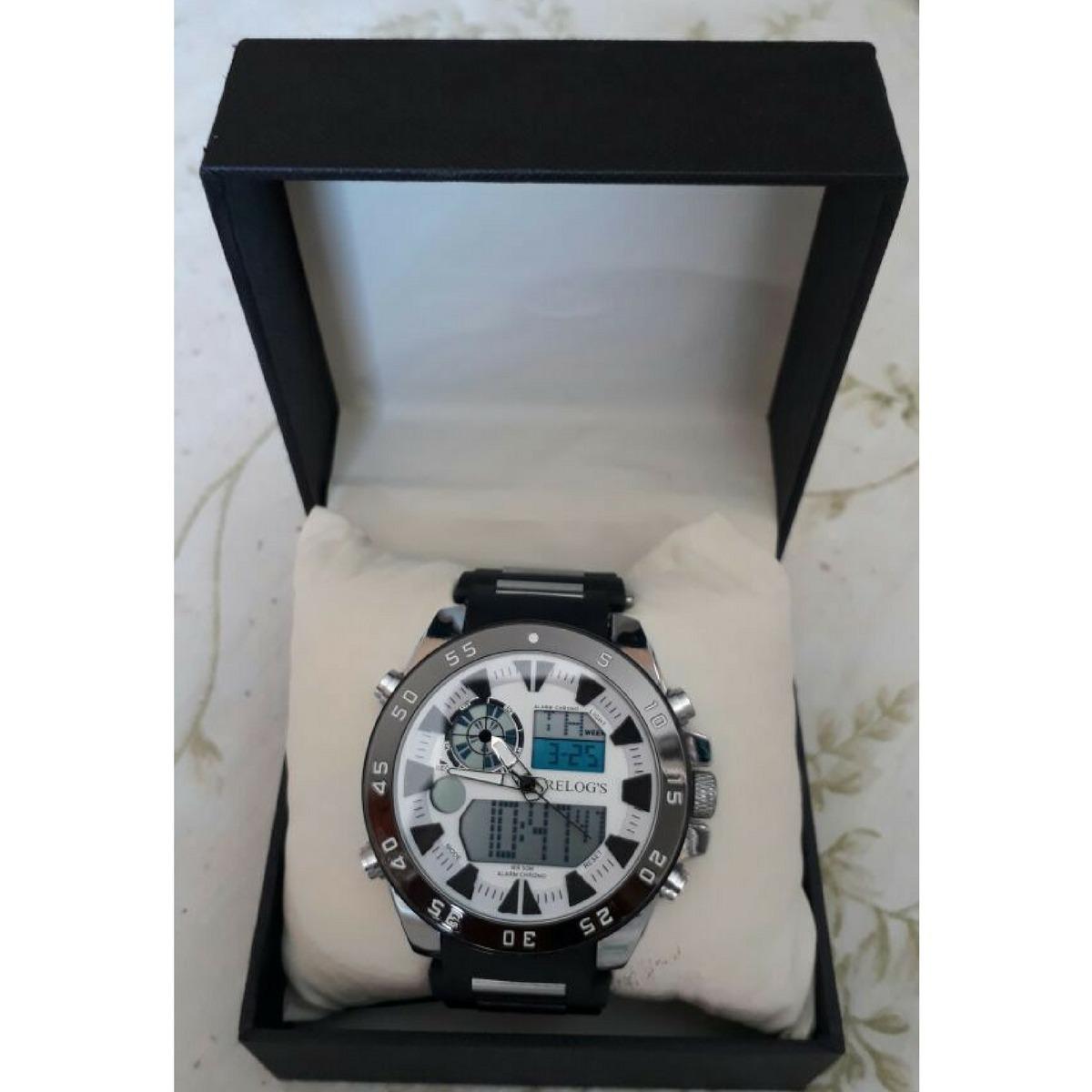 46cab973c61 Relógio Masculino Relog s Modelo Rr8308 - Promoção - R  79