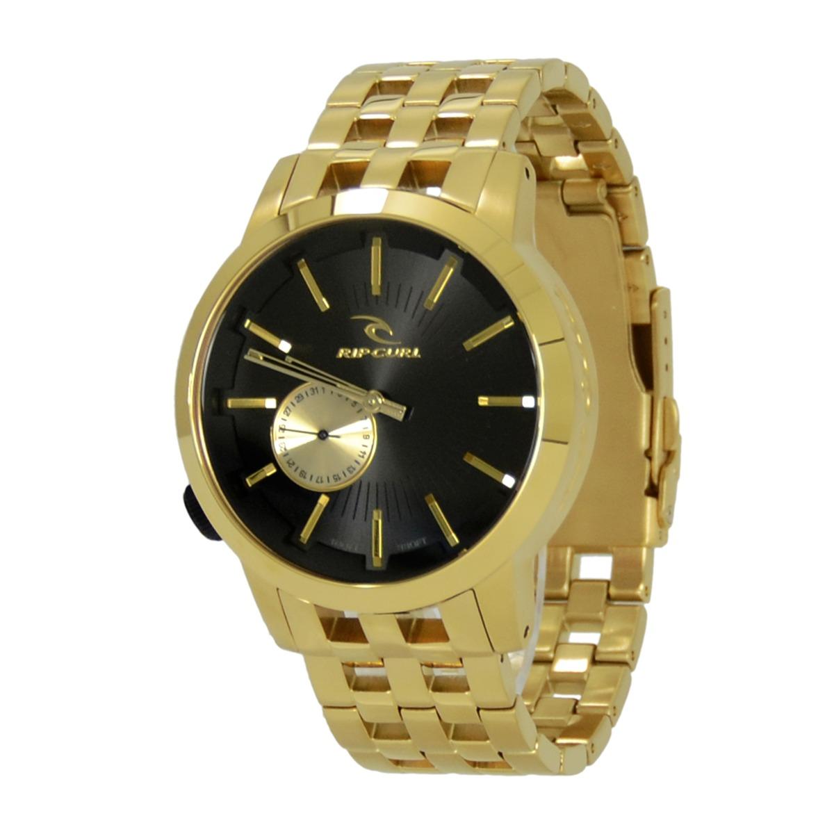 f7e4392c69b relógio masculino rip curl detroit midsize gold sss. Carregando zoom.