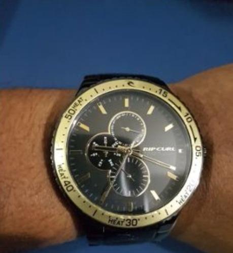 relógio masculino rip curl lincoln preto - oferta!!!!