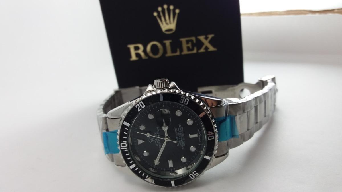 9818c49df05 relógio masculino rlx preto submariner mecânico automático. Carregando zoom.