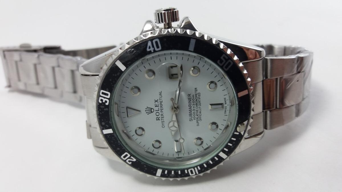 24a7a12daac relogio masculino rlx submariner barato branco promoção luxo. Carregando  zoom.