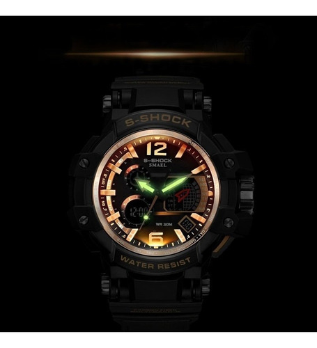 relógio masculino s-shock smael
