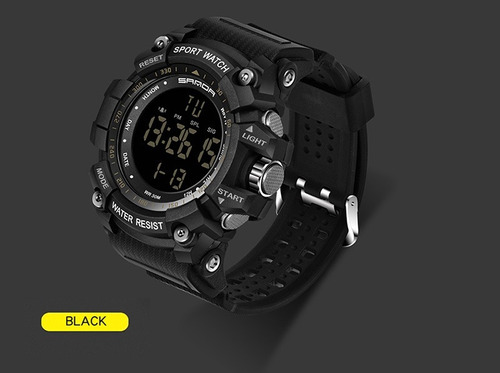 relógio masculino sanda 359 g-shock digital, original