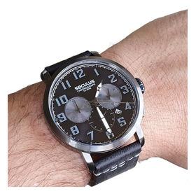 Relógio Masculino Seculus 13029gpsvsc4 Cronógrafo Calendário
