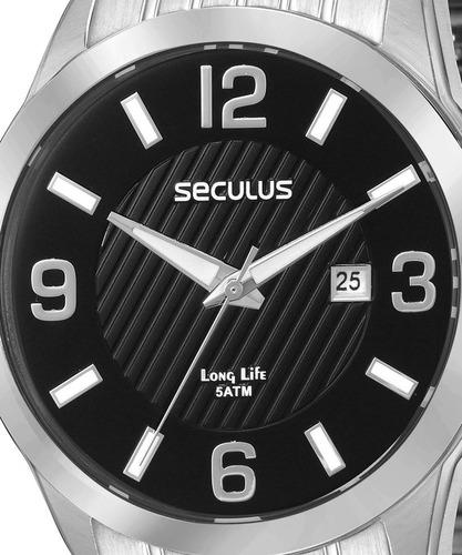 relógio masculino seculus 28837g0svna1, c/ garantia e nf