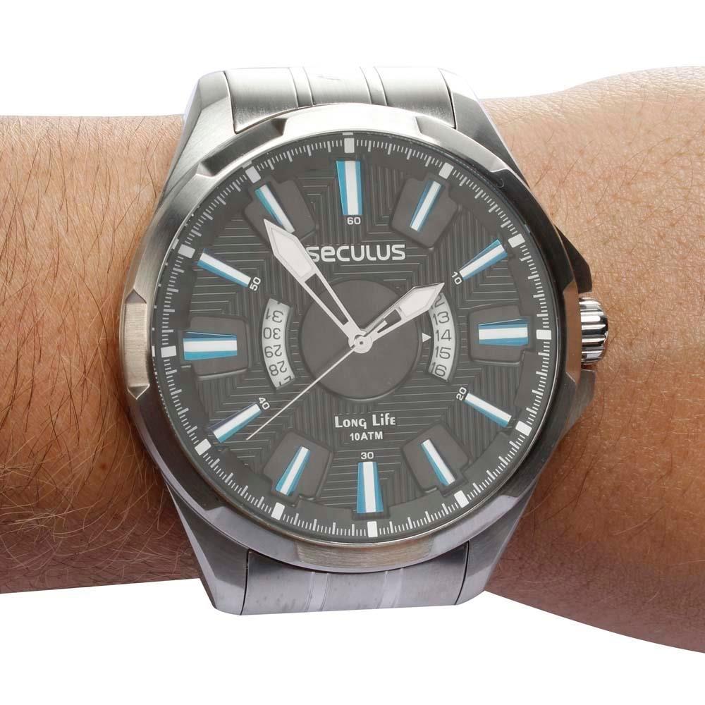 a19e95efce9af Relógio Masculino Analógico Original Seculus 28493g0svna1 - - R  150 ...